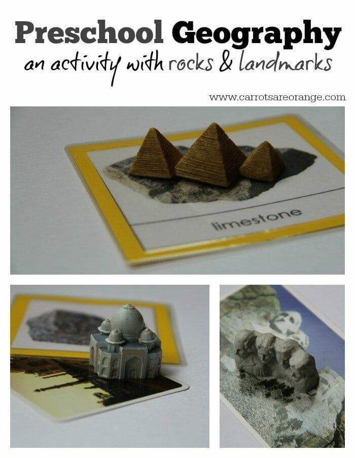 Rocks Landmark Matching Collage
