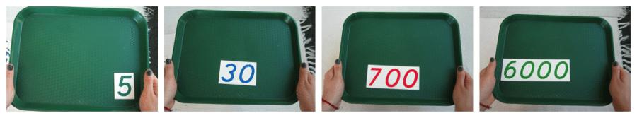 montessori composition of symbols