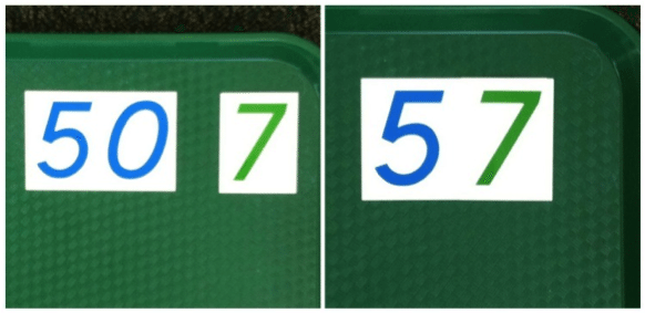 Montessori Math Composition of Symbols