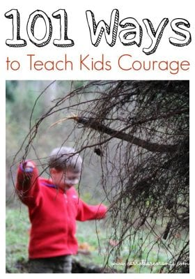 Teaching Courage Collage