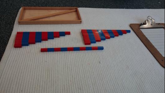 3 Montessori Math Number Rod Addition