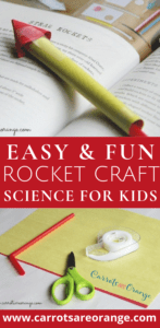 Easy Rocket Craft - Fun Science Activity for Preschoolers