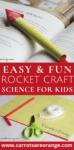 Easy Rocket Craft Fun Science Activity for Preschoolers