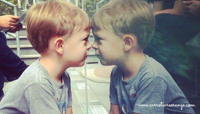 Child Reflecting
