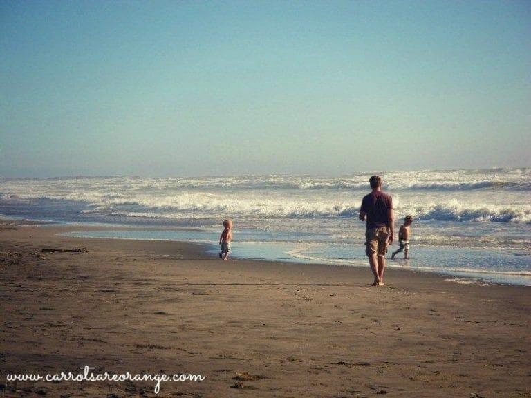Kids in Nature Beach