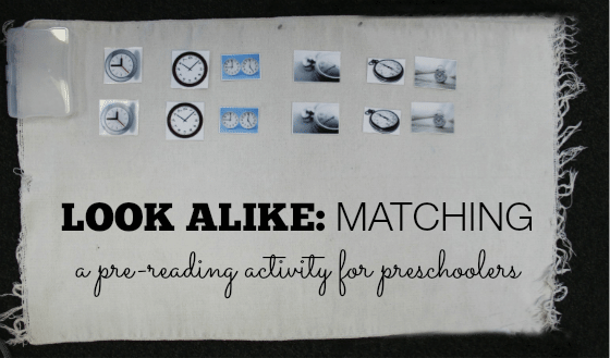 Learn a Montessori Pre-Reading Language Lesson – Look Alike Matching