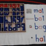 Montessori Language Short Vowel Lesson