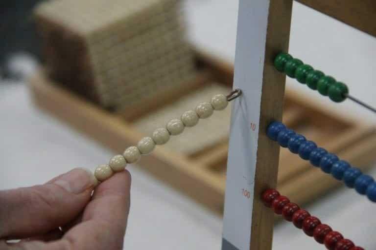 Small Bead Frame Ten Bar