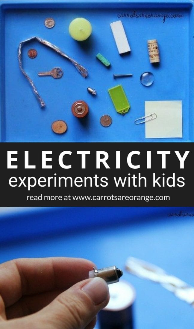 Learn easy electricity experiments with kids