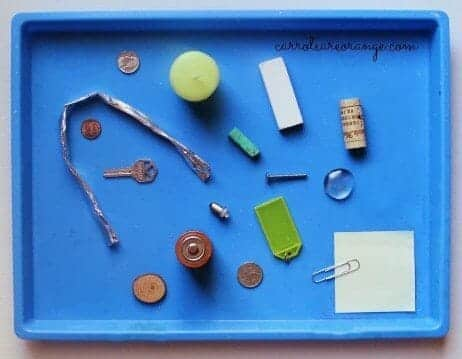 Learn electricity with kids for Waste material activity