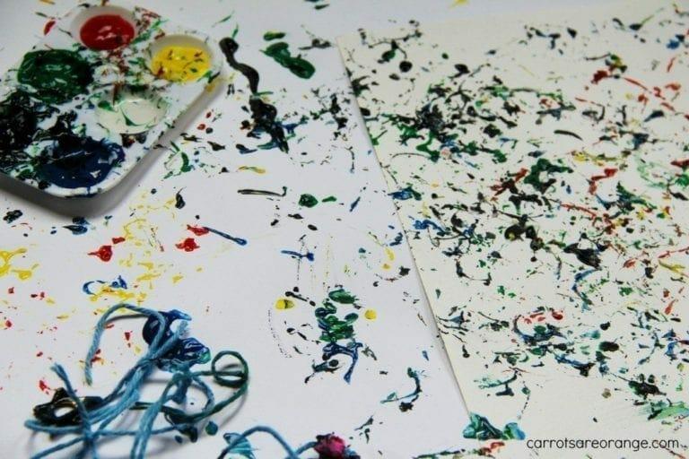 Musical Finger Painting