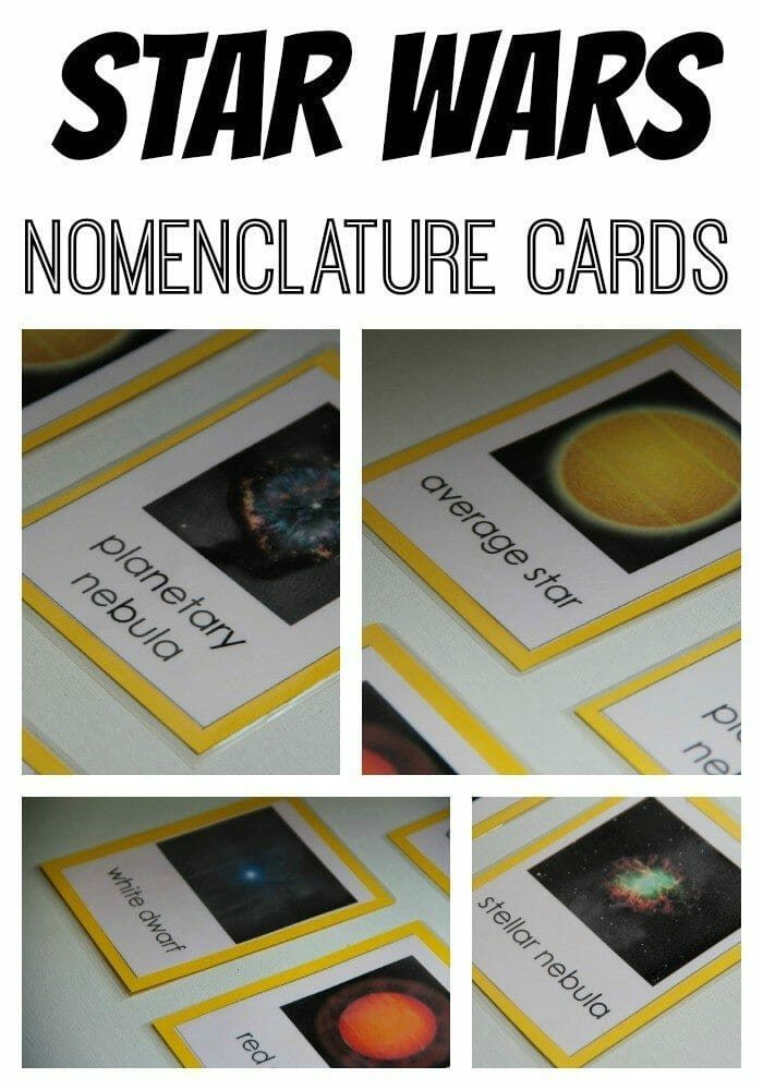 Star Wars Simple Nomenclature Cards