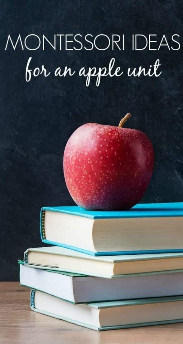 Preschool Apple Unit