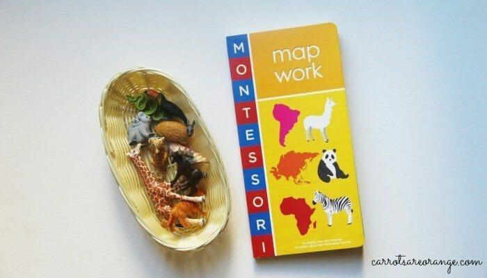 Animal Map Match Activity
