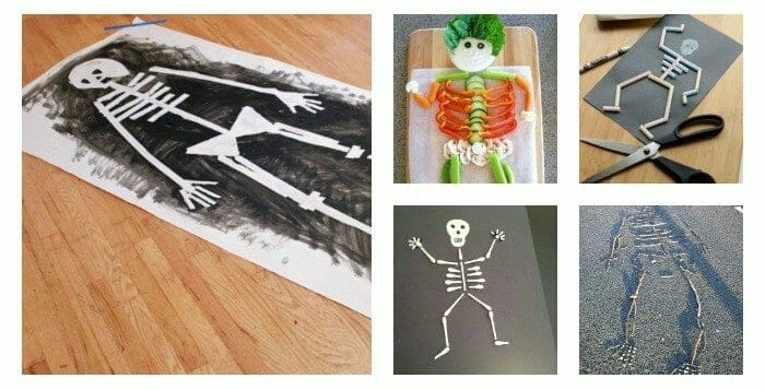 Super Awesome Skeleton Activities for Preschoolers