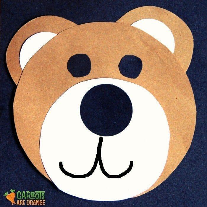 Craft Teddy Bear Eyes