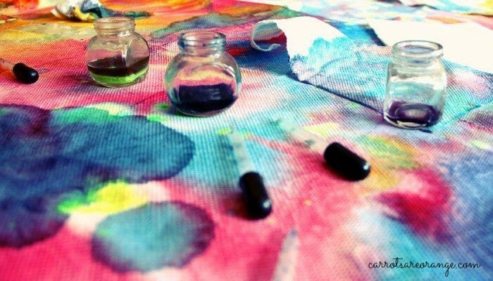 Liquid Watercolor Art and Science Activity