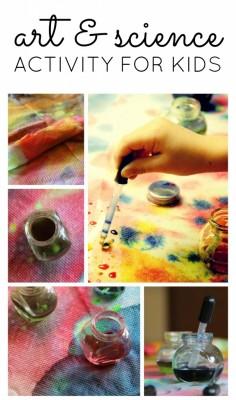 Easy Process Art Work for Kids