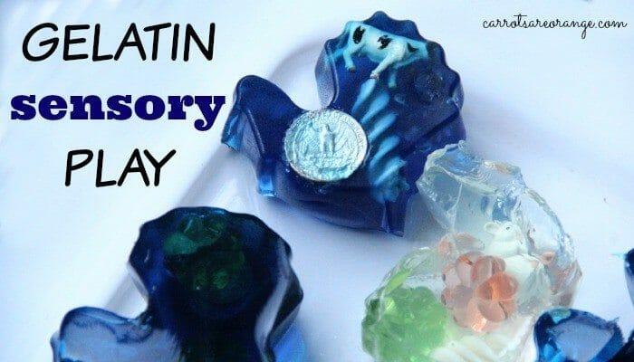 Gelatin Sensory Play Feature