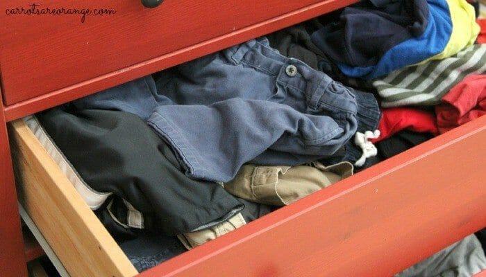 Organize Child's Closet