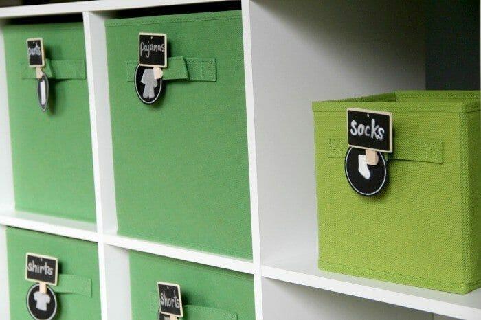 How to Organize a Boy's Closet