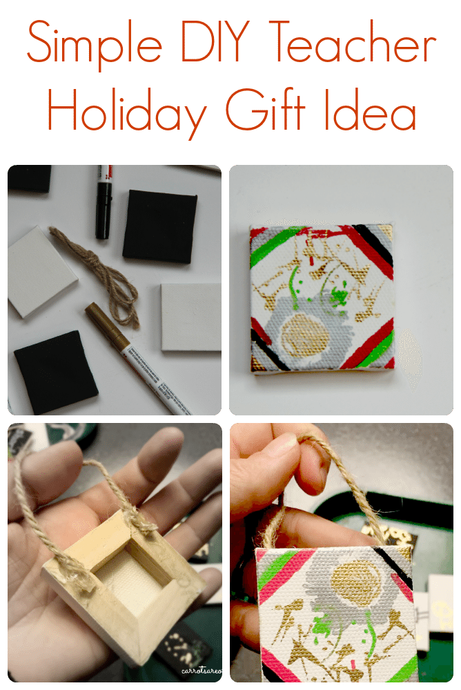 Teacher Holiday Gift Ornament