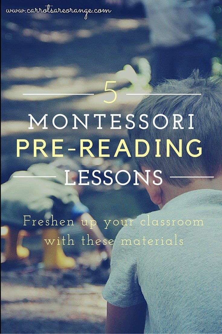 Pre-Reading Lessons