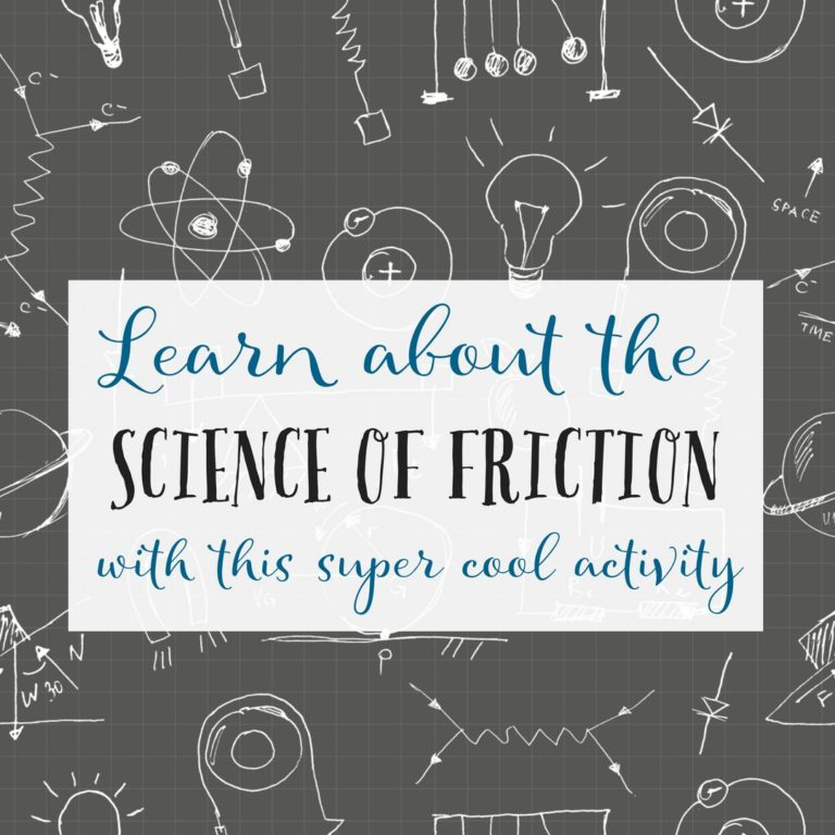 Learn a super cool, super easy science of friction experiment
