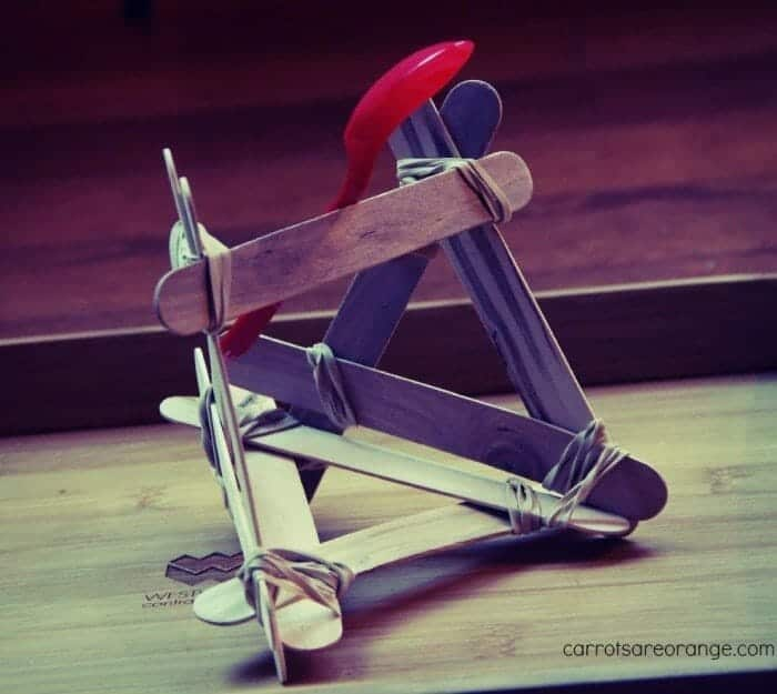 How to Build a Catapult with Craft Sticks