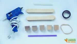 Materials to Make a Bow and Arrow
