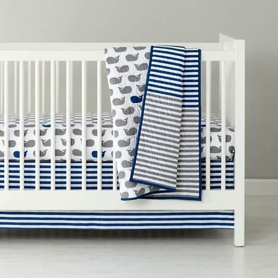 Land of Nod Crib Sheet