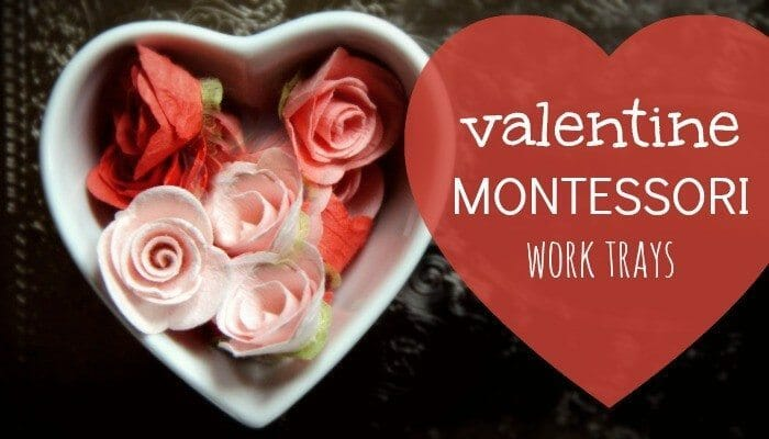 Check out these Amazing Montessori Valentines Activities