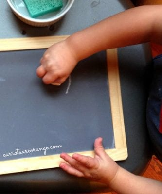 Writing with a Chalkboard