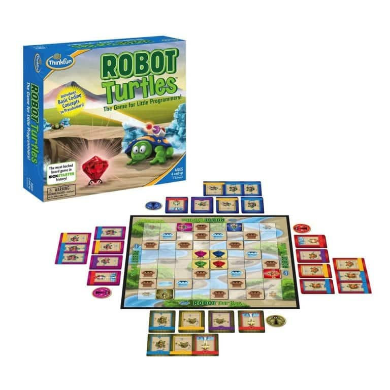 Robot Turtles A Game ti Teach Kids to Code