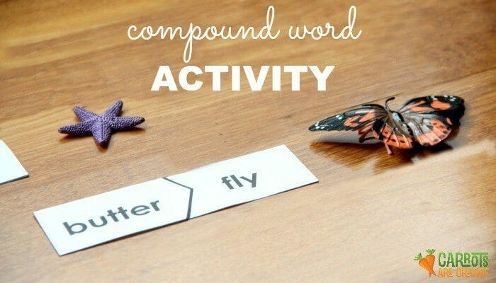 Kids will have fun learning about compound words with this activity!