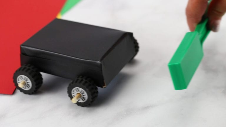 How to Build a Magnetic Car with Your Kids Still