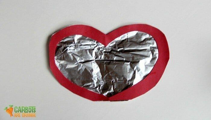 Foil Heart Art