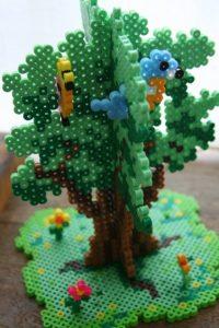 Earth Tree Perler Bead