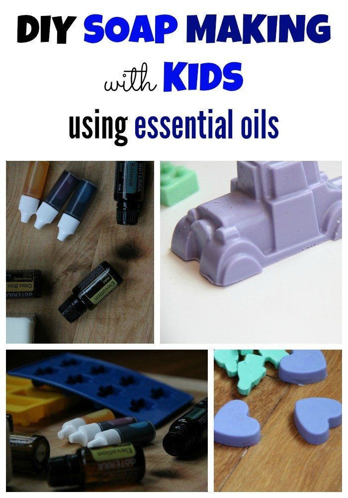 Awesome essential oils diy soap making activity for kids for Soap craft for kids