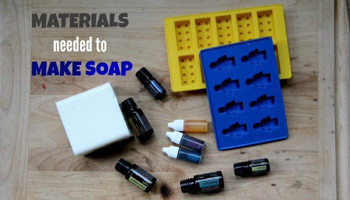 Materials Needed to Make Soap