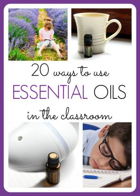 Essential Oils in the Classroom Collage