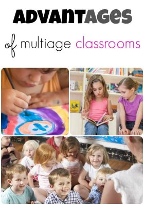 multiage classroom collage