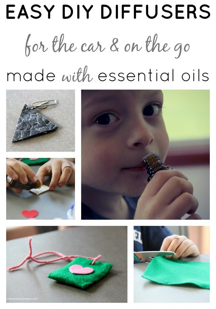 Essential Oil Activities with Kids Diffuser DIY