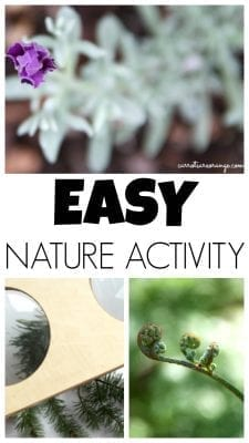 EASY NATURE ACTIVITY FORKIDS