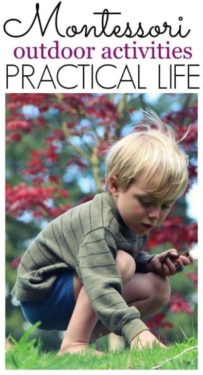 Outdoor Montessori Activities for Practical Life