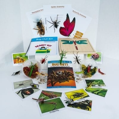 An awesome learning kits for kids! The Brainy Bug Out Kit!