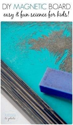 DIY Magnetic Board Pinterest