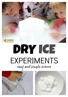 Dry Ice Experiments for Kids