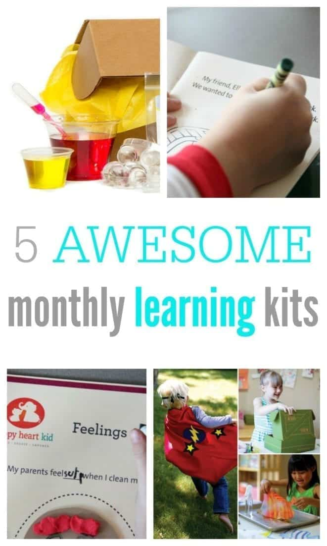 Monthly Kits Collage