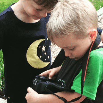 Teaching Children about Cameras